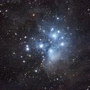 The Pleiades (M45),                                Lee B