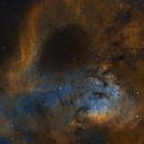 NGC7822 - 4 panel mosaic,                                Peter Jenkins