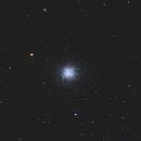 M13 Great Globular Cluster in Hercules,                                Juan B. Torre Valle