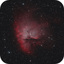 NGC281 Pacman Nebula,                                DaveBishop