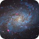 Triangulum galaxy in windy conditions - M33,                                Maxime Delacroix