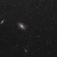 Bode's Nebulae,                                Yves-André