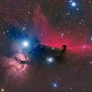 The horsehead nebula (B33) and it's surroundings,                                Sven Hoffmann
