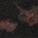 Heart and Soul Nebula (IC1805 and IC1848),                                JD
