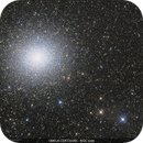Omega Centauri (NGC 5139) and Cirrus,                                Gabriel R. Santos (grsotnas)