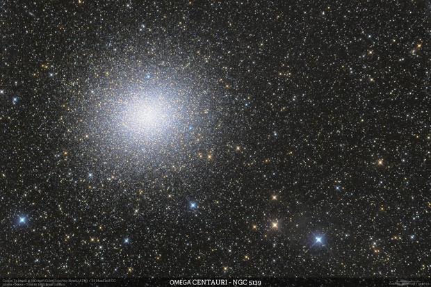 Omega Centauri (NGC 5139) and Cirrus,                                Gabriel R. Santos...