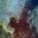 North America Nebula in SHO,                                James Fletcher