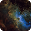 The Eagle... An Homage to Hubble,                                north.stargazer