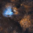 M17(Omega Nebula) and IC 4701,                                Tommy Lease