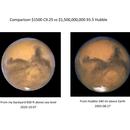 Mars - C925 vs Hubble,                                Scott Alber