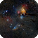 Antares, RHO and Blue Horse Head,                                Leandro Fornaziero