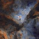 Eta Carinae Core - SHO,                                Paddy Gilliland