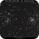 NGC869&884 - The Double Cluster,                                Brice Blanc