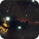 IC434 Horse Head Nebula (close to the Moon light),                                Cyril NOGER