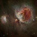 Orion Nebula,                    litobrit