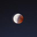 Eclipse de Lune de juillet 2018,                                astrodoud