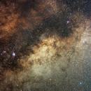 Milky Way in Sagitarius, Ophiucus & Scorpio,                                Jesús Piñeiro V.