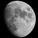 Lune gibbeuse croissante du 17042016,                                Stardust24