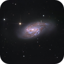 Messier 66 - part of Leo Triplet,                                Łukasz Sujka