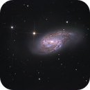 Messier 66 - part of Leo Triplet,                                  Łukasz Sujka