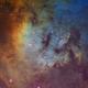NGC 7822 Hubble Palette,                                Eric Coles (coles44)