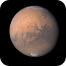 Mars - 15.09.2020 - double V shape clouds above north pole,                                Łukasz Sujka