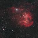 IC 2944,  the Running Chicken Nebula,                                Luis Armando Gutiérrez Panchana