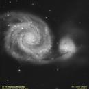 Whirlpool Galaxy,                                José J. Chambó