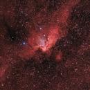 Wizard Nebula - HaSIIOIIIRGB ,                                Arno Rottal