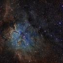 NGC 6820 / sh2-86 Nebula & Open Cluster NGC 6823 in Vulpecula,                                  Daniel.P