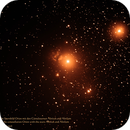 Flame Nebula NGC2024 in the constellation Orion with the stars Alnitak and Alnilam,                                Hans-Peter Olschewski