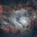 Lagoon Nebula in SHO,                                  Jeff