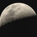 Half a moon with D810a,                                Kharan
