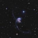 NGC 4038/4039 aka The Antennae Galaxies,                                sky-watcher (johny)