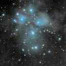Messier 45 (Seven Sisters) - Version 2,                                Prabhakar