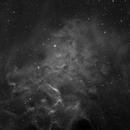 "IC405 der ""Flaming Star Nebel"",                                Thilo Nedwidek"