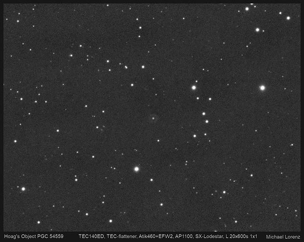 Hoag's Object PGC 54559,                                Michael Lorenz