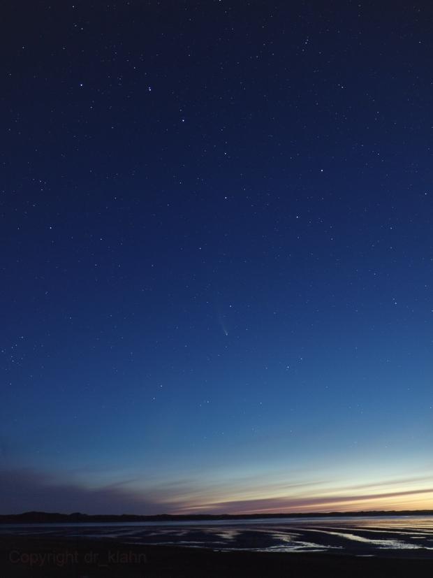 C/2020 F3 (NEOWISE) & Big Dipper,                                dr_klahn