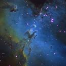Eagle Nebula from Telescope Live,                                Mauricio Christiano de Souza
