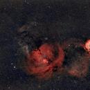 ciel dans la constellation de la licorne,                                laup1234