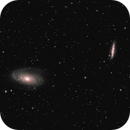 M81(Bode's) and M82 (Cigar) Galaxy's,                                AstroDinsk