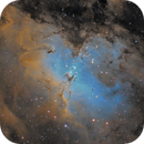 M16 - The Eagle Nebula in SHO Hubble Palette,                                Cfosterstars
