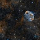 NGC6888 - Crescent Nebula & Soap Bubble,                                José Fco. del Agu...