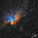 NGC 7380 - Wizard Nebula,                                  Astro Nick