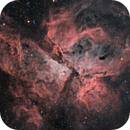 One of my first images Reprocessed - NGC 3372 Great Carina Nebula in HaRGB,                                Ariel Cappelletti