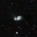 M51 Whirlpool Galaxy,                                Dainius Urbanavicius