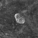 NGC6888 Ha - Première image à la CCD !,                                Jean-Baptiste Auroux