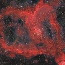 IC1805 - The Heart Nebula - H-RGB,                                Almos Balasi