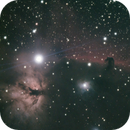 The Horsehead Nebula and Flame Nebula,                                Jason Rudduck