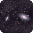 Messier 81/82 - Bode's Galaxy and the Cigar - QHY600 - Esprit 150 - LRGB Ha,                                Eric Walden